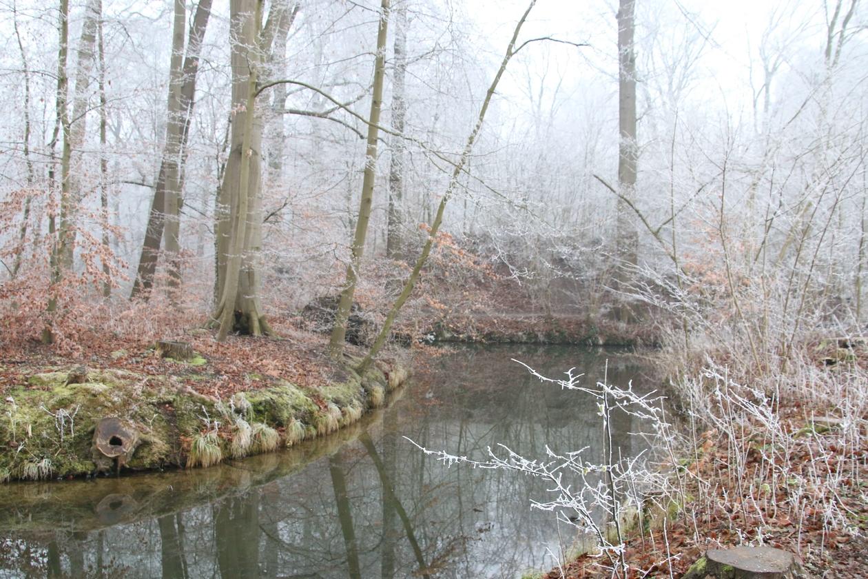Engelse Werk in winterse sfeer.