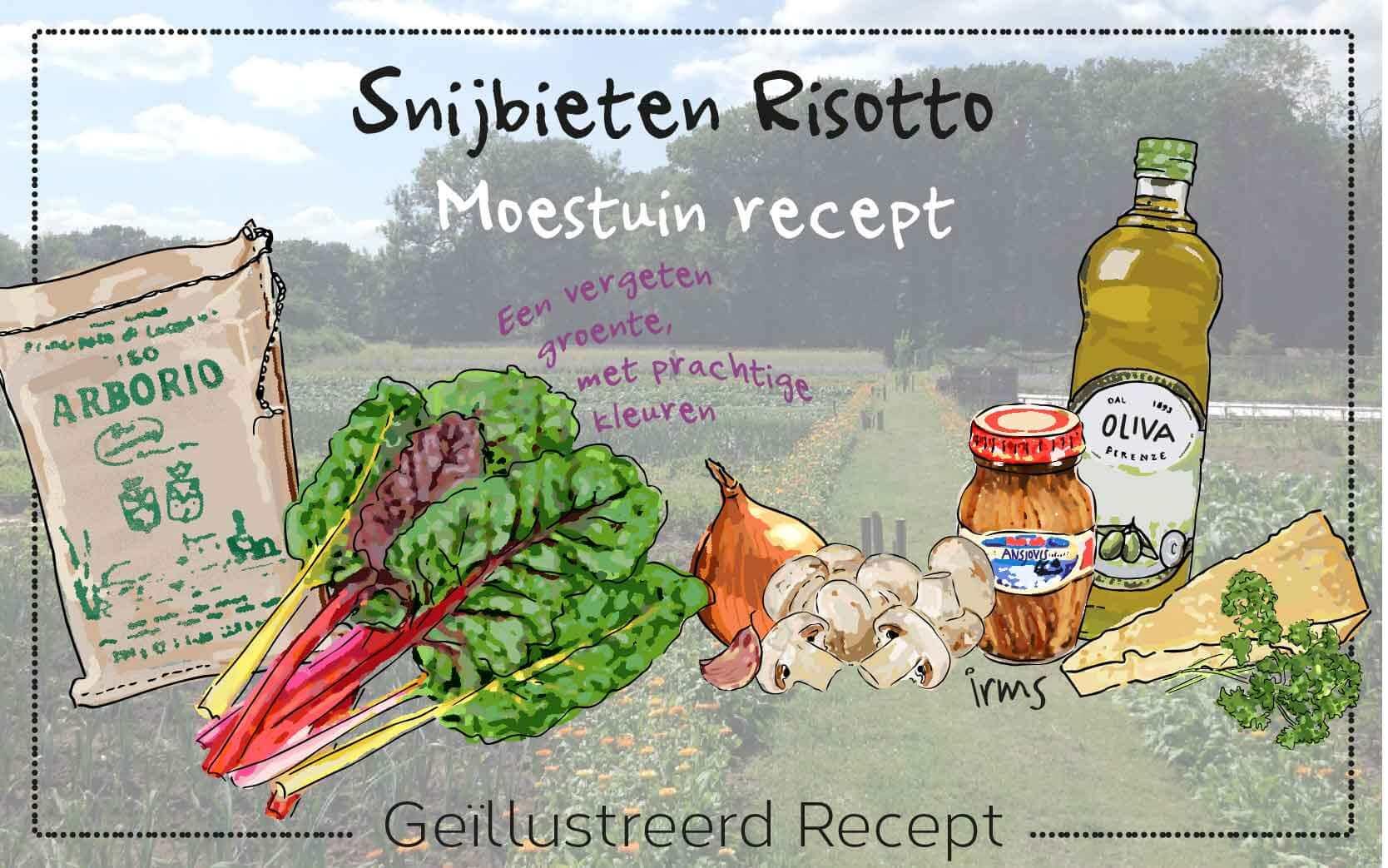 Recept snijbieten risotto