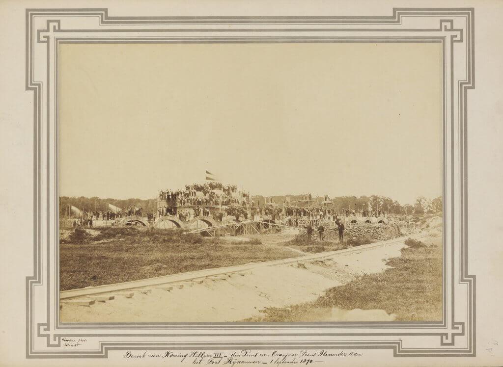 Bouw Fort bij Rijnauwen