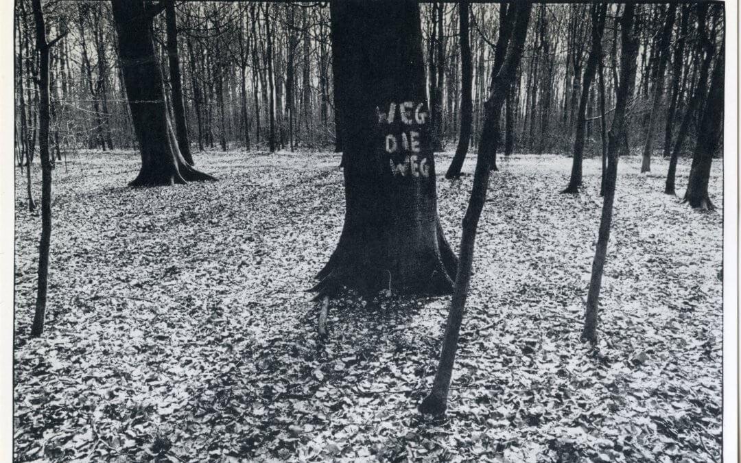 596 bomen op Amelisweerd 1982