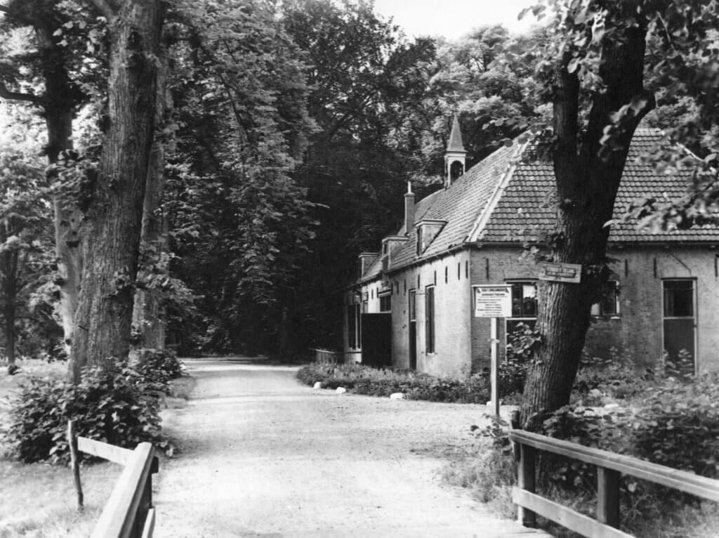 Koetshuis Oud Amelisweerd 1954