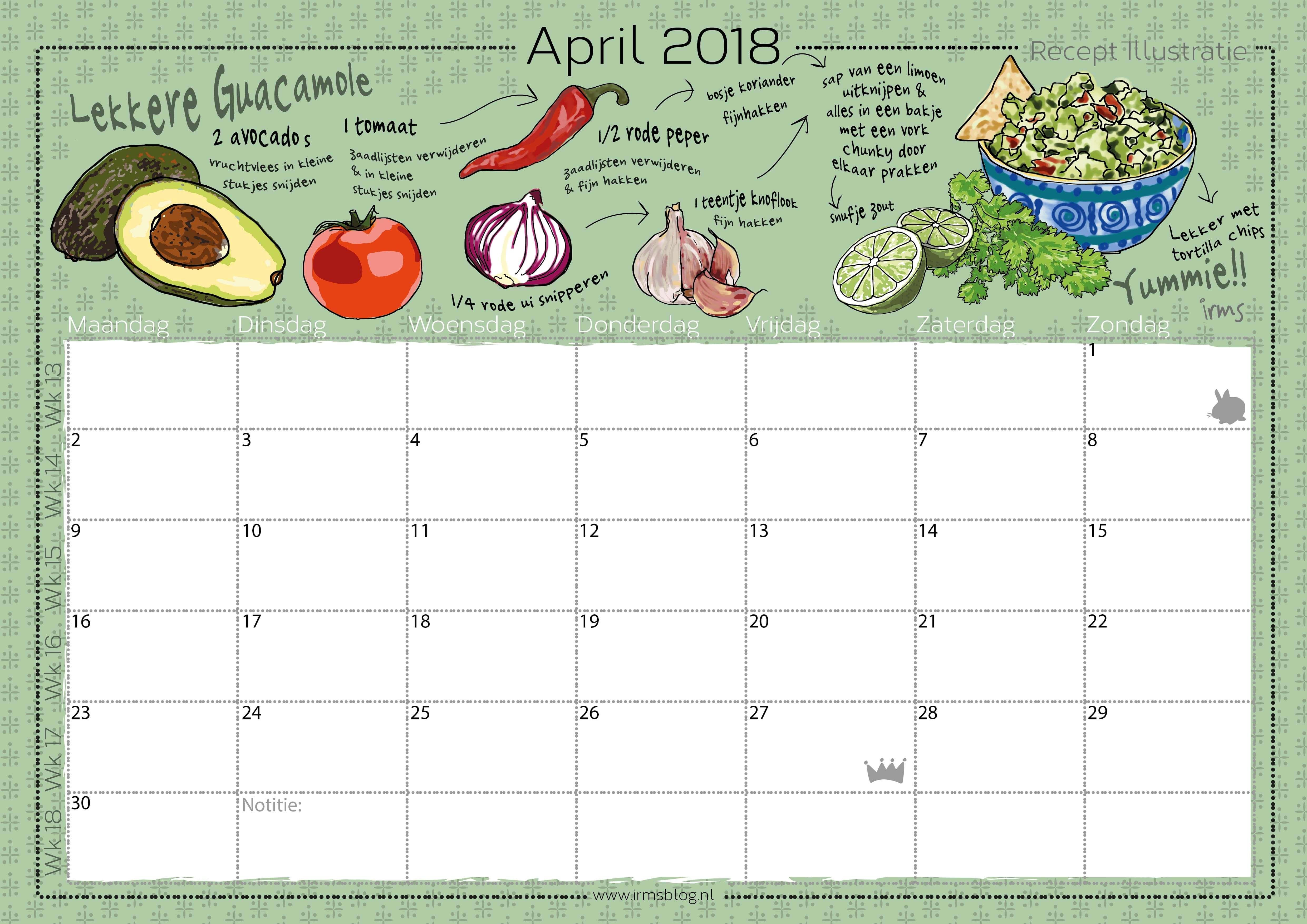 receptenkalender-2018-irmsblog_guacomole
