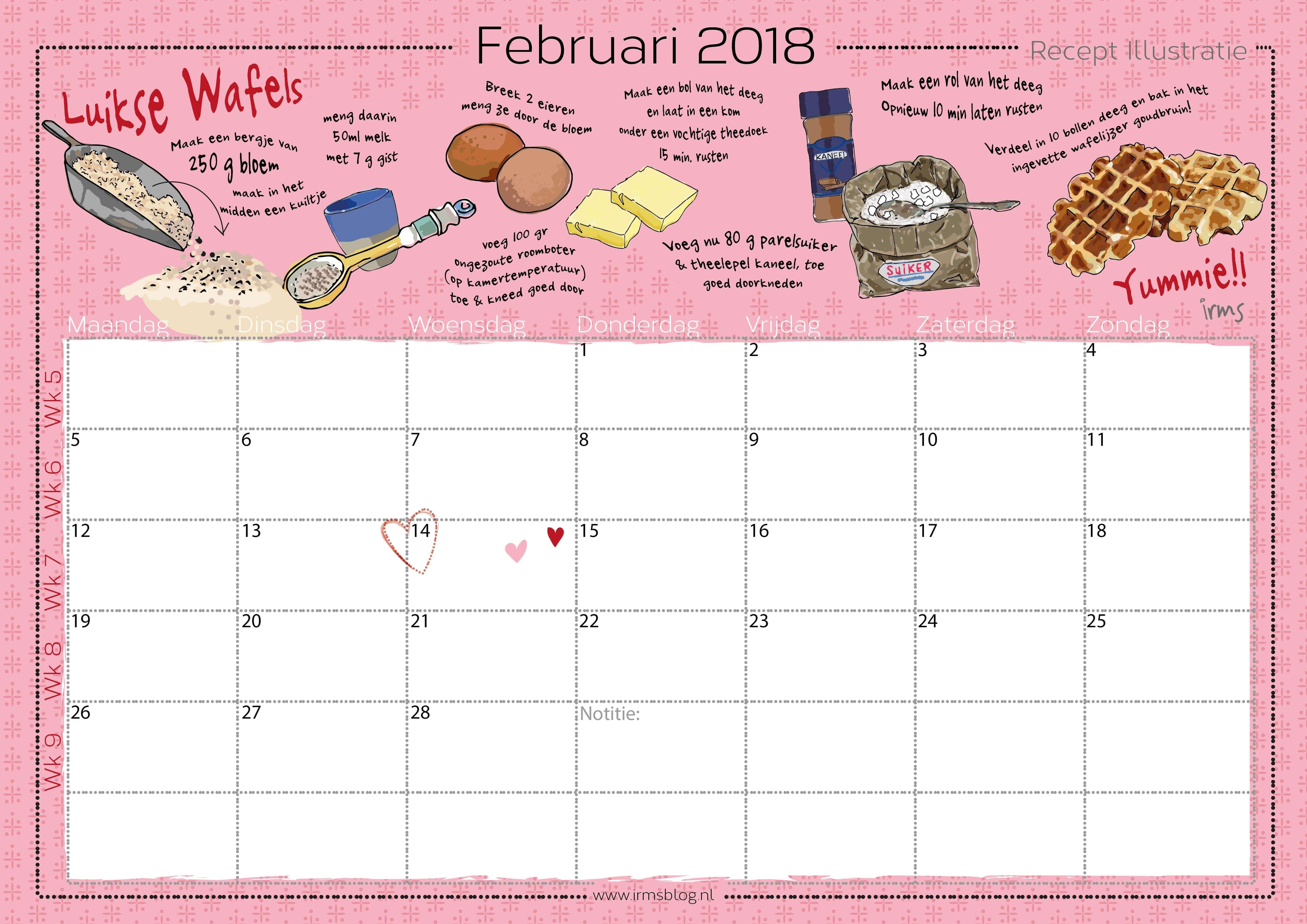 receptenkalender-2018-irmsblog_luikse wafels