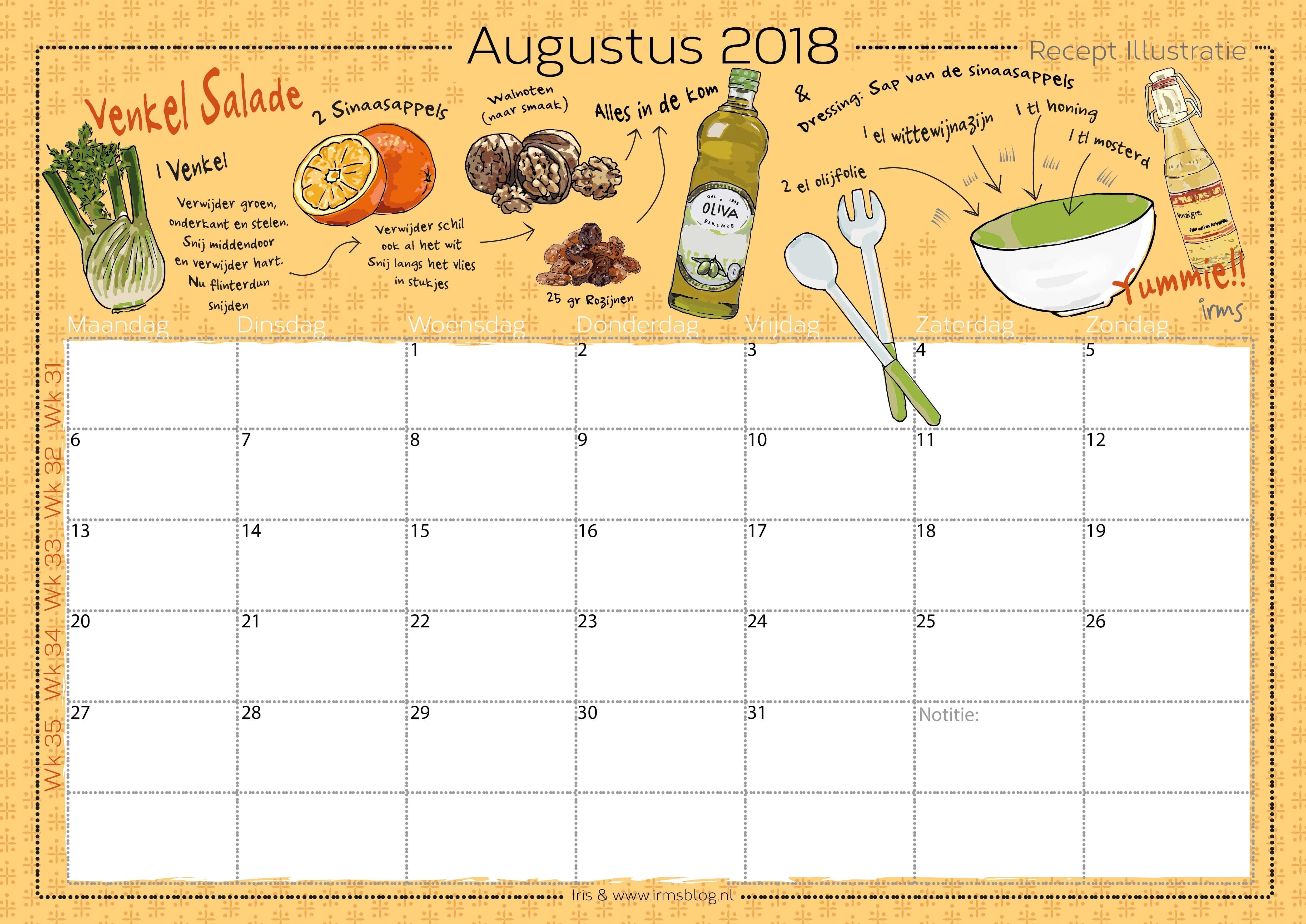 receptenkalender-2018-irmsblog_venkel salade