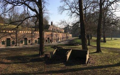 Winterwandeling op Fort bij Rijnauwen