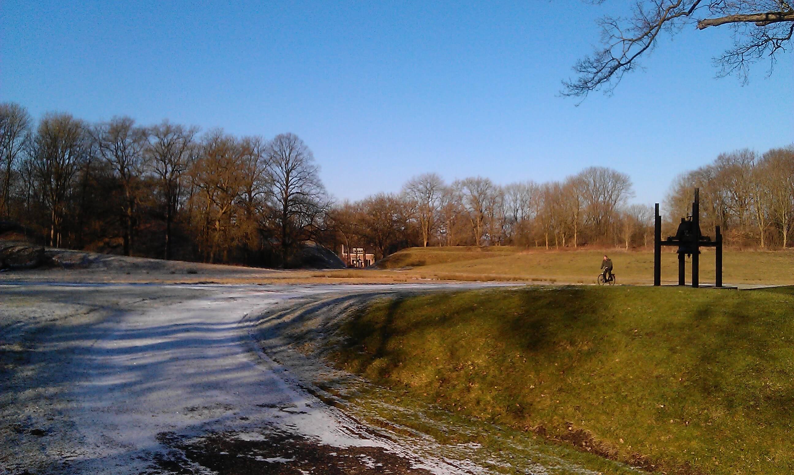 fort bij rijnauwen winter