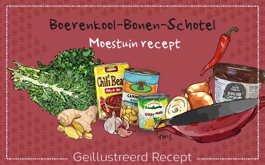 Moestuinrecept: boerenkool op z'n Afrikaans