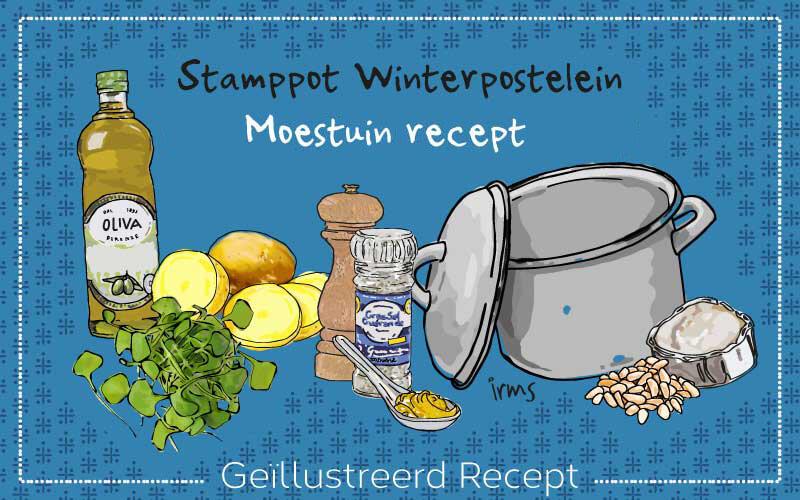 Vergeten groente: winterpostelein