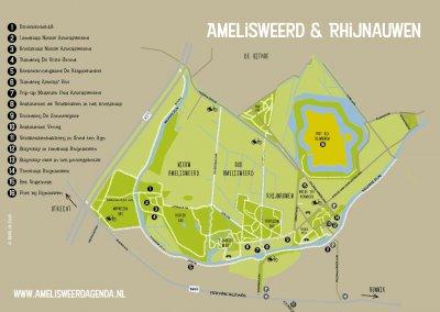 Download: plattegrond Amelisweerd & Rhijnauwen