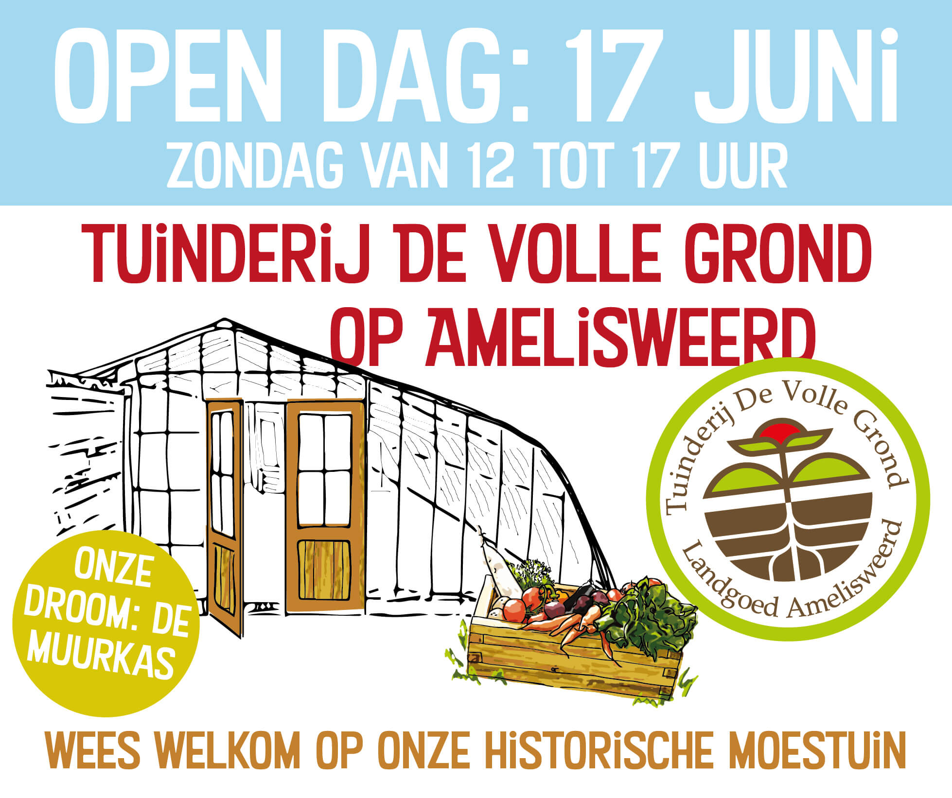 De Volle Grond open dag 17 juni 2018
