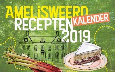 Vanaf nu bestellen: de Amelisweerd Moestuinrecepten Kalender 2019
