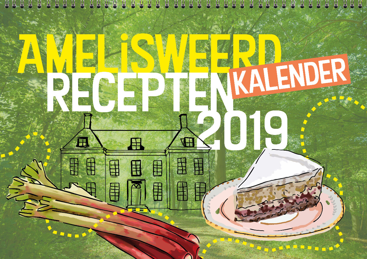 Cover concept kalender 2019 Amelisweerd klein