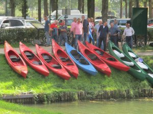 Team outing Amelisweerd canoes