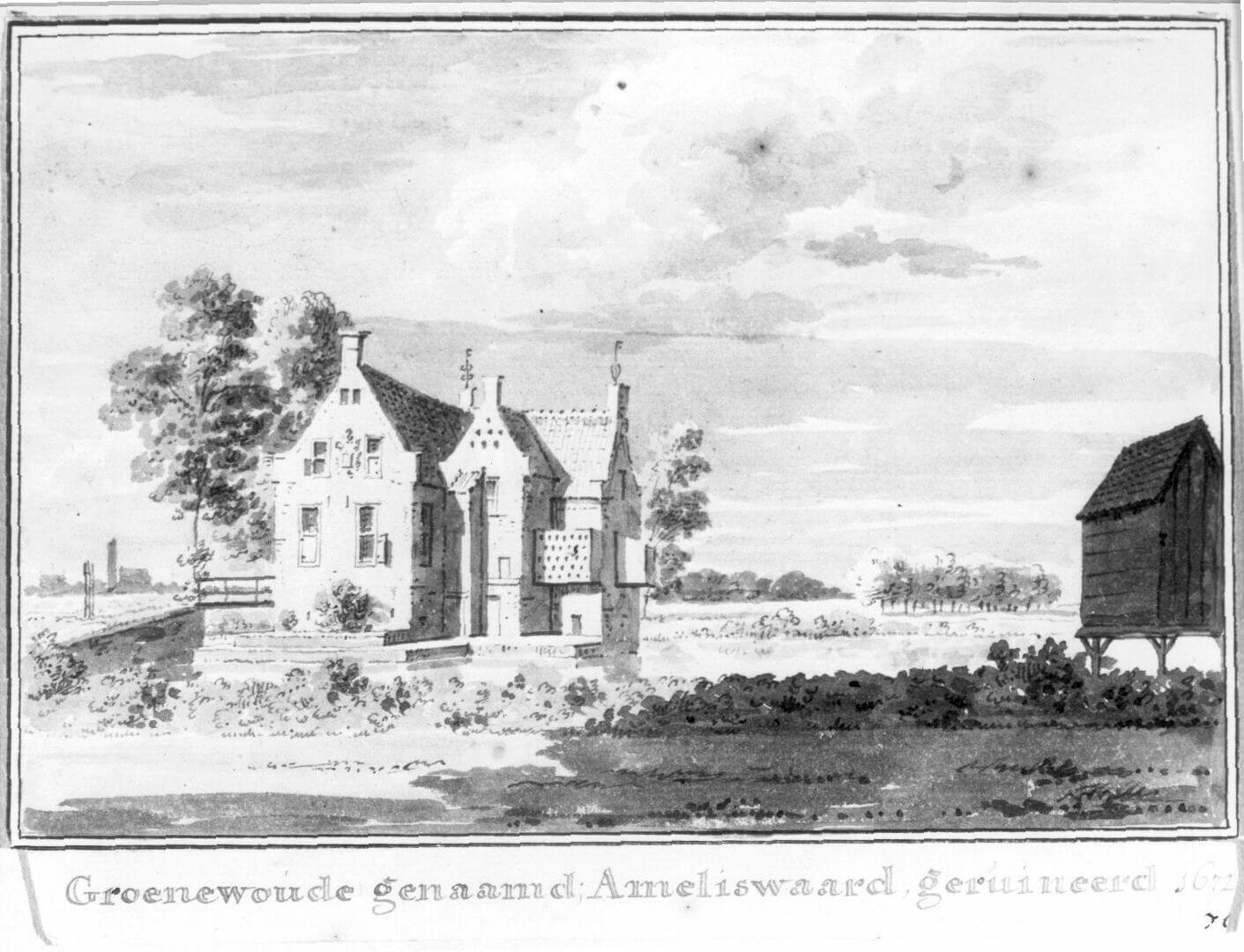Groenewoude Nieuw Amelisweerd 1630-70 UA 38009