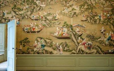 Heemschut pleit voor behoud Chinees behang op Oud Amelisweerd