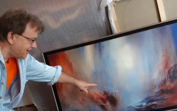 Atelier Amelisweerd: abstract Schilderen met Bob Tomanovic