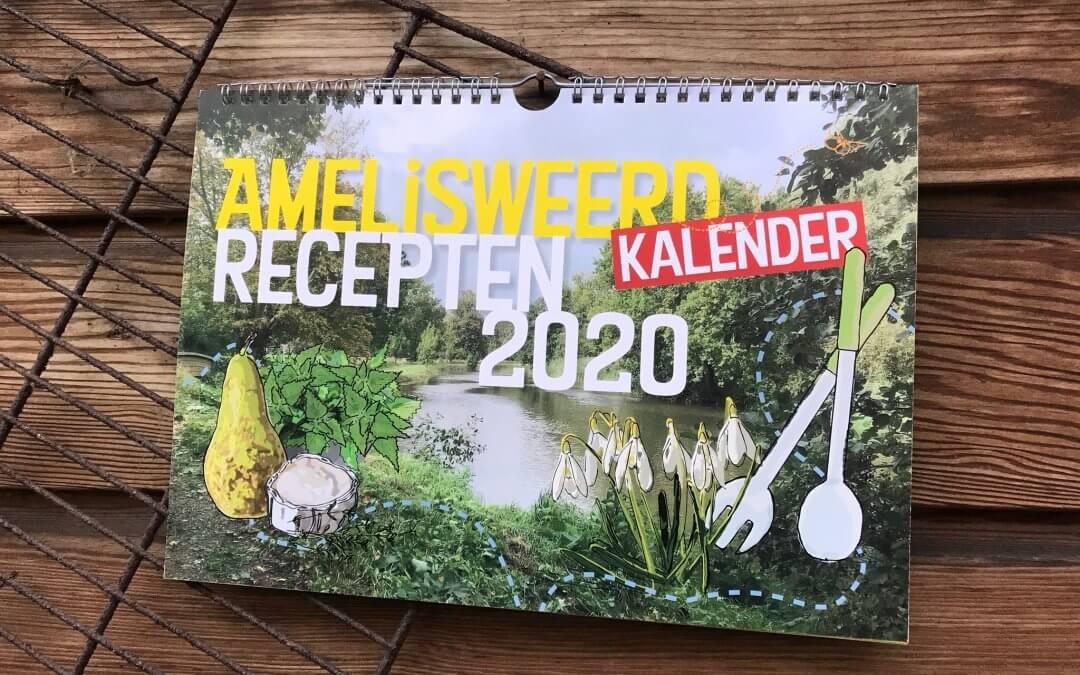 Vanaf nu bestellen: Amelisweerd Moestuinrecepten Kalender 2020
