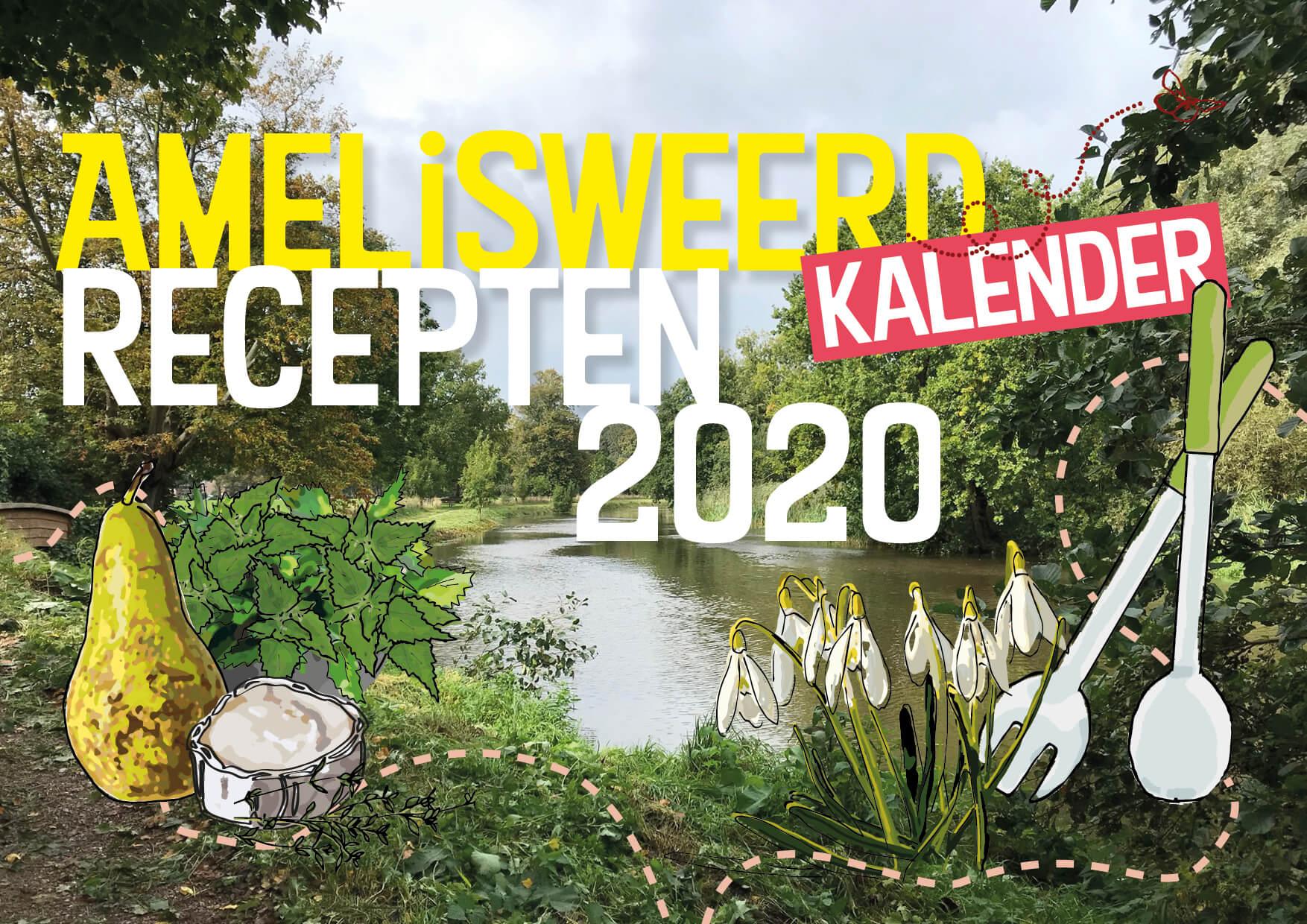 amelisweerd recepten kalender 2020 cover