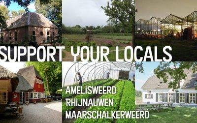 Landgoedproducten tijdens corona: support your locals