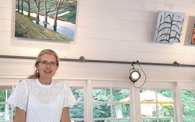 Kunst bij Theehuis Rhijnauwen: Trix van Veen