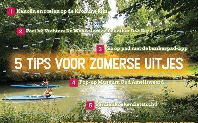 Staycation: met je kids naar Amelisweerd & Rhijnauwen!