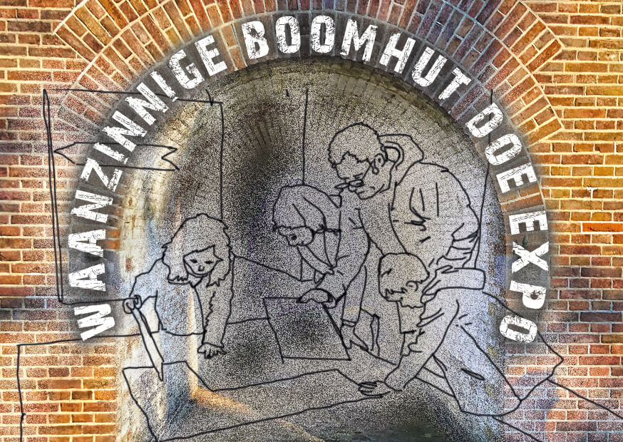 De Waanzinnige Boomhut Doe Expo op Fort bij Vechten