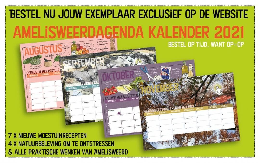 Vanaf nu bestellen: Amelisweerd Moestuinrecepten Kalender 2021
