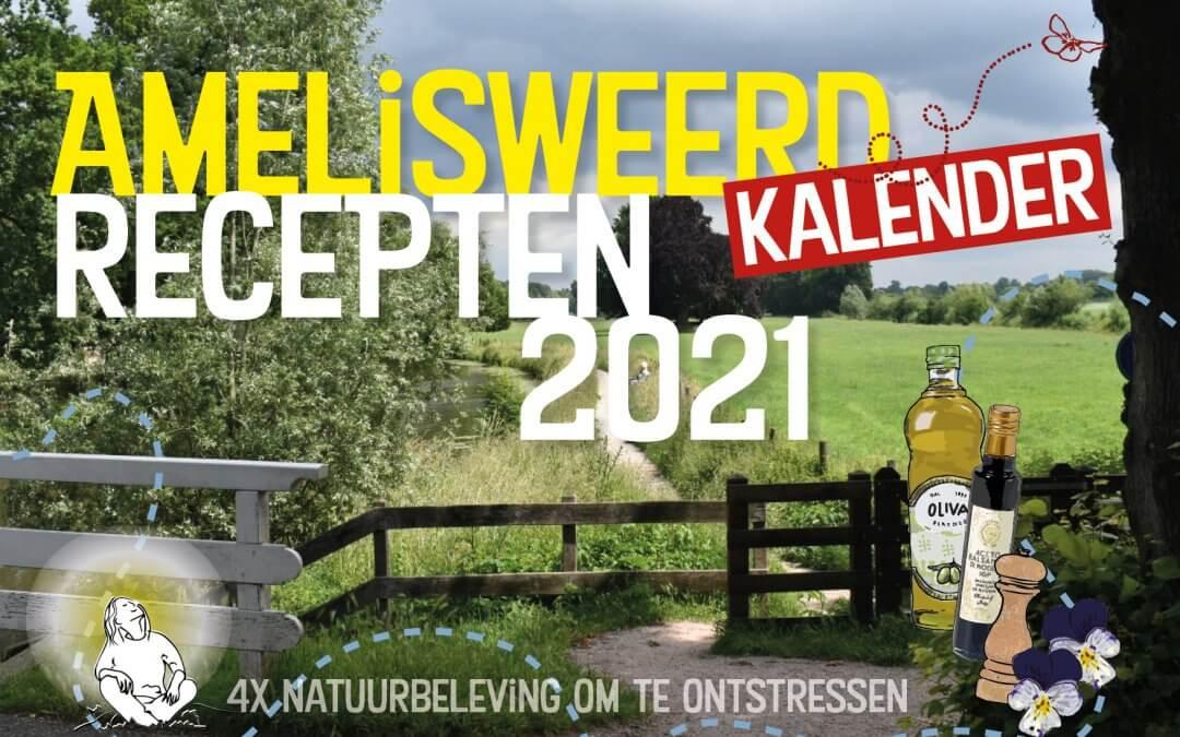 Nog steeds te bestellen: Amelisweerd Moestuinrecepten Kalender 2021