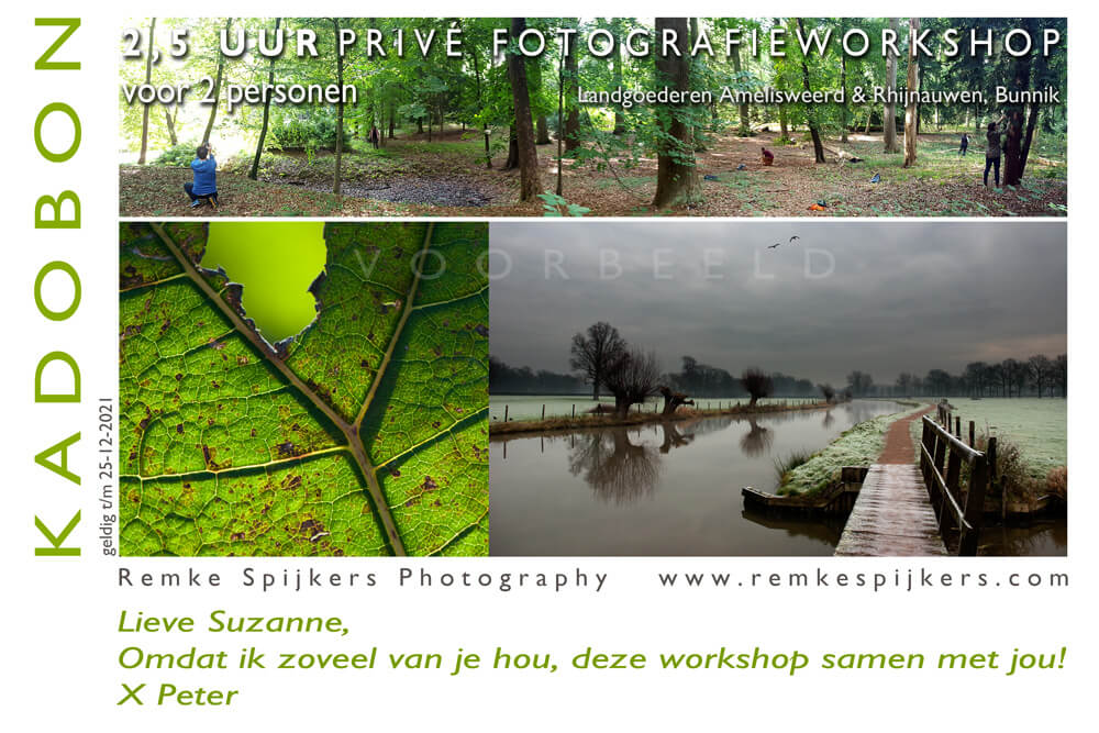 Privé fotografie workshop Remke Spijkers