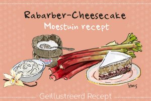 Irms recept rabarber cheesecake
