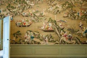 Huis Oud Amelisweerd Chinees behang